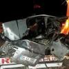 Kavşakta Feci Kaza 5 Ölü 1 Yaralı