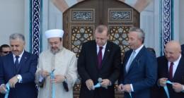 Cumhurbaşkanı Erdoğan Yıldırım Beyazıt Camiyi Açtı