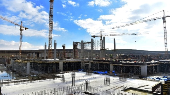 Fuar alanı inşaatı 2019 yıl sonunda bitirilmesi planlanıyor